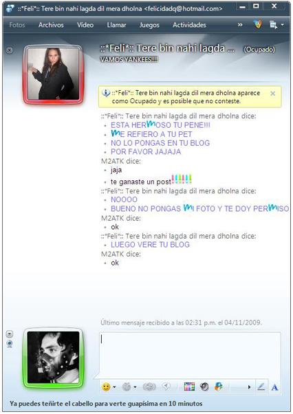 Chat Felicidad